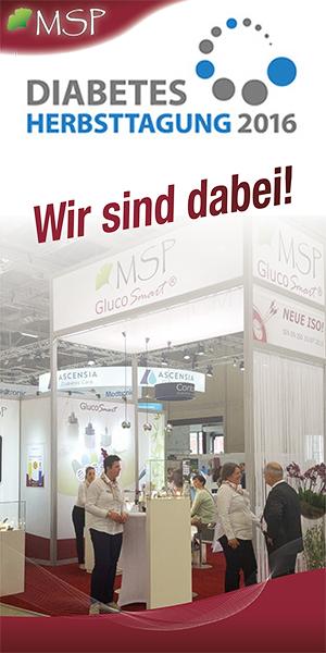MSP GlucoSmart auf der DDG Diabetes Herbsttagung 2016 in Nürnberg