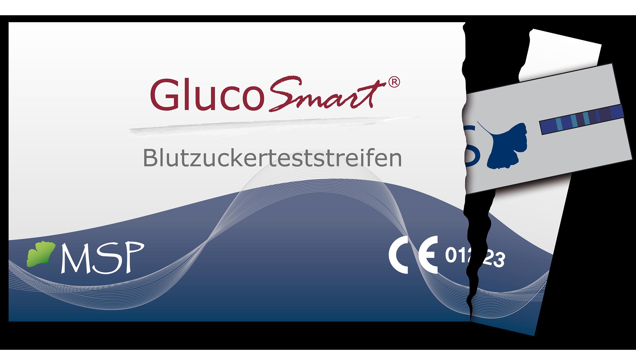 GlucoSmart Salsa Blutzucker Teststreifen Diabetes